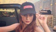 Photo pour annoncer que l'actrice Brie Larson jouera la super-héroïne Marvel, Captain Marvel