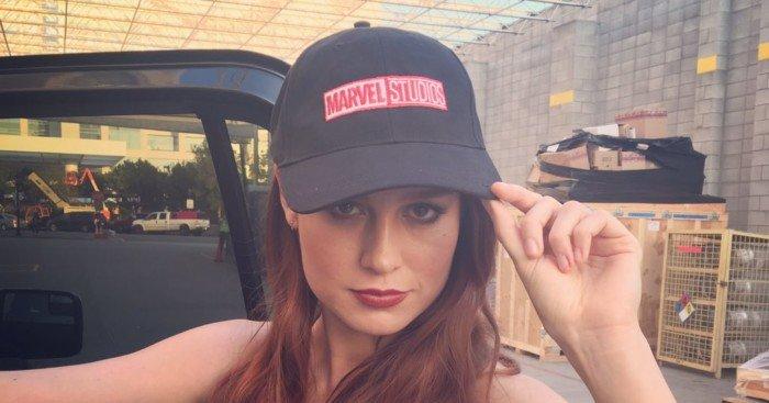 Photo pour annoncer Brie Larson en Captain Marvel