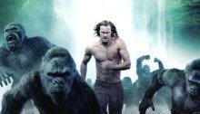 "Affiche de Tarzan avec la tagline ""La jungle a retrouvé son roi"""