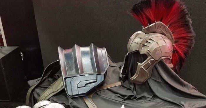 Photo du costume de gladiateur pour Hulk dévoilée au Comic-Con 2016