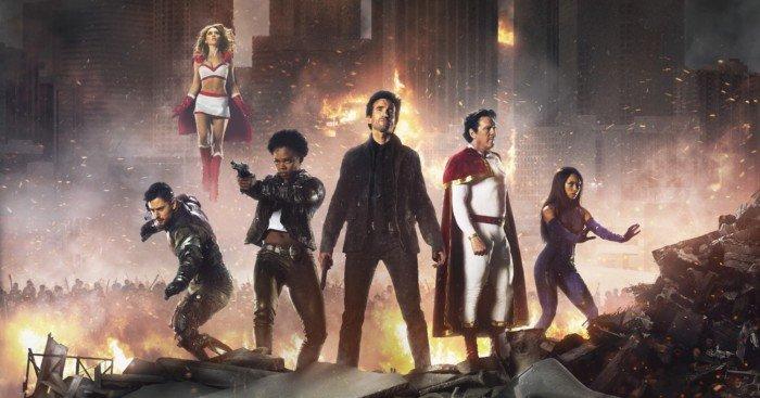 Poster de la saison 2 de Powers