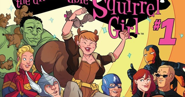 Couverture d'Unbeatable Squirrel Girl Vol 1 1