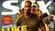 Luke Cage sur la couverture du magazine SFX