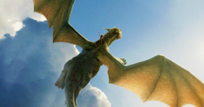 Affiche française Peter et Elliott le dragon