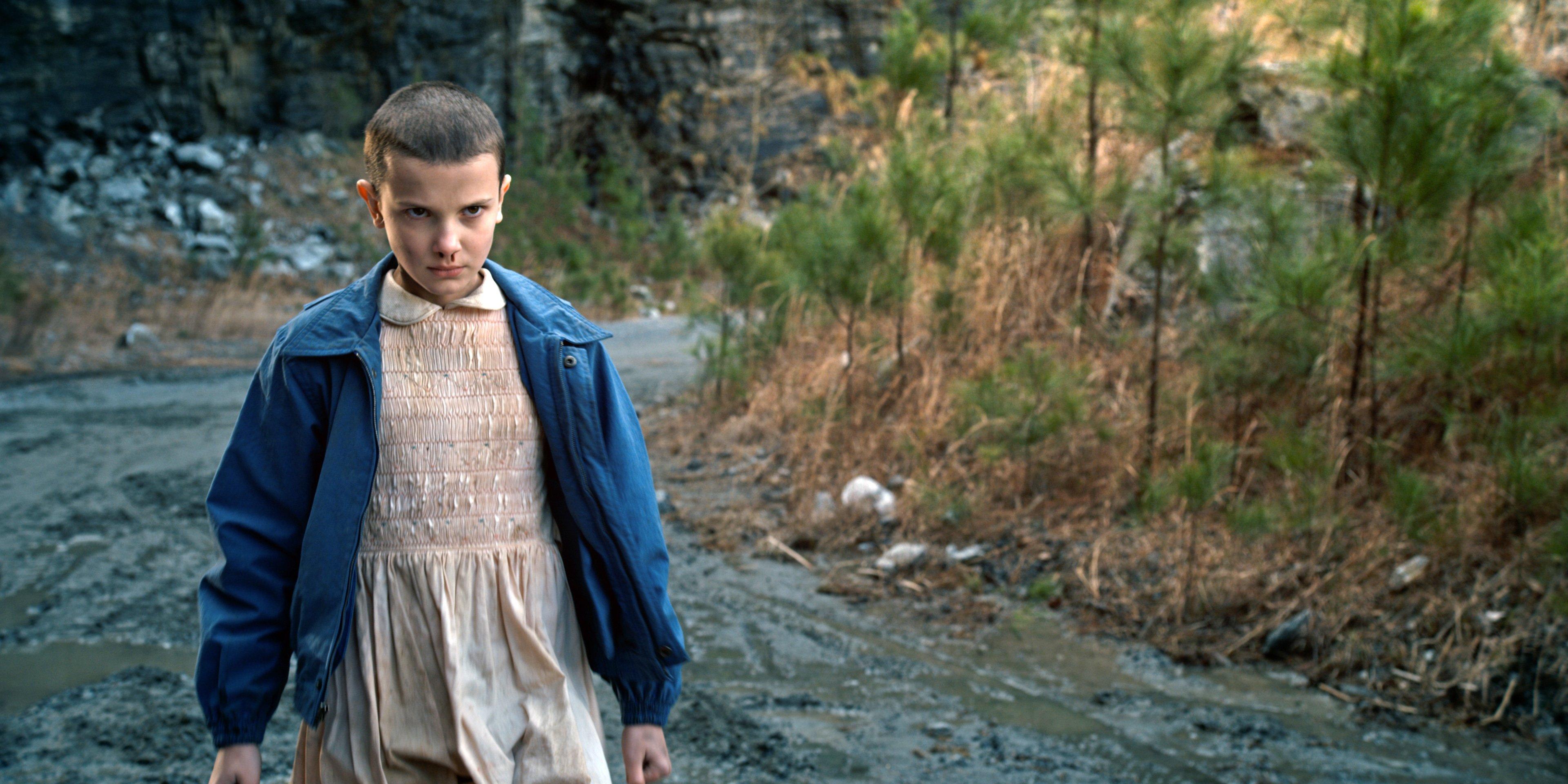 Photo de la saison 1 de Stranger Things avec Eleven