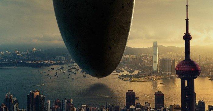 Poster teaser Premier Contact (Arrival en VO)