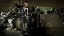 Photo de Gabriel Luna dans le rôle de Robbie Reyes alias Ghost Rider pour la saison 4 d'Agents of SHIELD