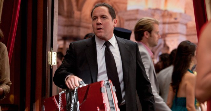 Photo du film Iron Man 2 avec Jon Favreau dans le rôle d'Happy Hogan