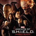 Poster de la saison 4 d'Agents of SHIELD avec le Ghost Rider