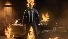 Photo du Ghost Rider pour la saison 4 d'Agents of SHIELD