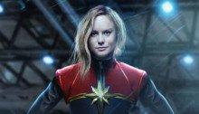 Photo par BossLogic de Captain Marvel incarnée par Brie Larson