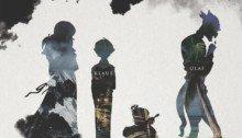 Affiche teaser de la série Netflix, Les désastreuses aventures des orphelins Baudelaire