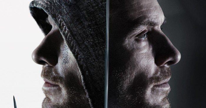 "Poster d'Assassin's Creed avec Michael Fassbender et la tagline ""Your destiny is in your blood"""