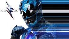 Affiche du Power Rangers bleu