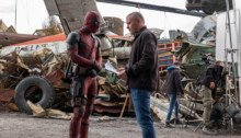 Photo du tournage de Deadpool avec Tim Miller