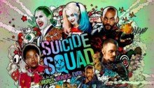 Poster de Suicide Squad façon champignon atomique
