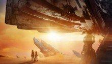 Affiche teaser de Valérian et la Cité des mille planètes