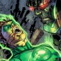 Image de Justice League 5 avec Green lantern contre Darkseid