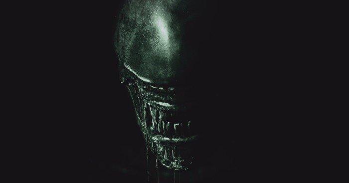 Poster teaser d'Alien: Covenant avec la tagline 'Run'