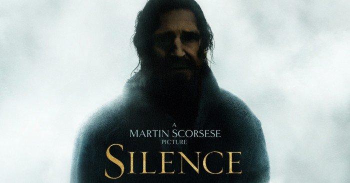 Poster teaser de Silence avec Liam Neeson
