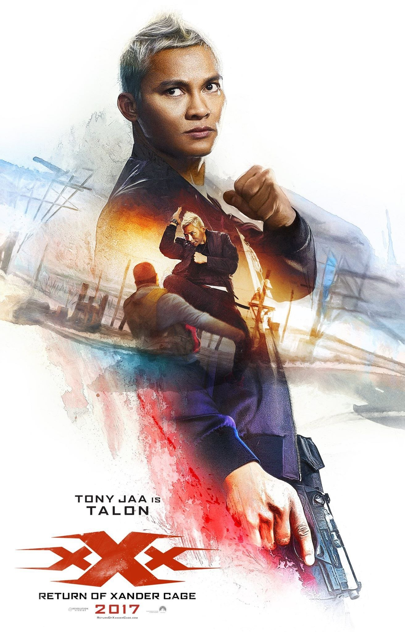Jaa Great poster : xxx: reactivated (tony jaa - talon)