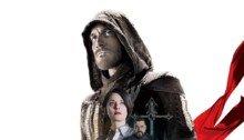 Poster espagnol du film Assassin's Creed réalisé par Justin Kurzel, d'après un scénario de Bill Collage, Adam Cooper et Michael Lesslie, avec Michael Fassbender, Marion Cotillard, Jeremy Irons