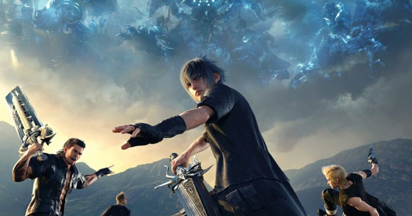 Couverture de Final Fantasy XV sur PlayStation 4