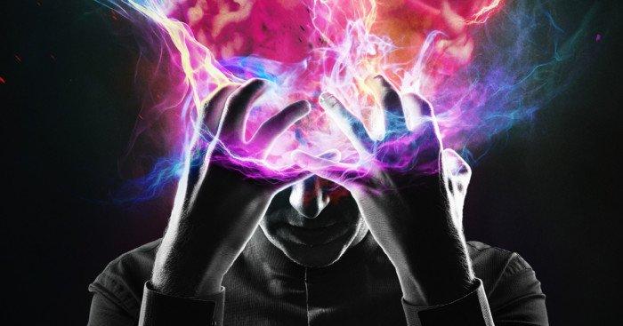 Poster de la série Legion avec David Haller (Dan Stevens)