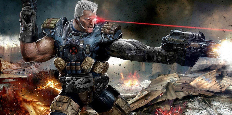 Artwork représentant Cable dans les comics X-Force