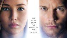 Affiche française du film Passengers avec Jennifer Lawrence et Chris Pratt