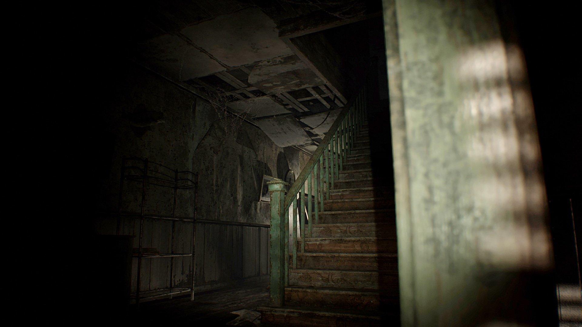 Image de l'exploration de la maison dans Resident Evil 7: Biohazard