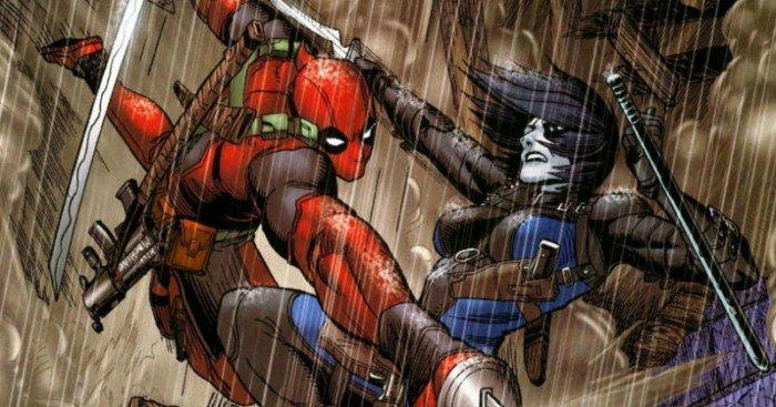 Image issue du comic New Mutants #98 mettant en scène le personnage Domino