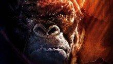 Poster de Kong: Skull Island sur le style Apocalypse Now