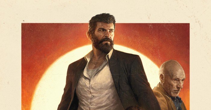 Poster IMAX de Logan avec Wolverine, Xavier et Laura