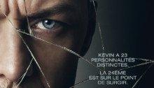 Affiche française du film Split avec James McAvoy
