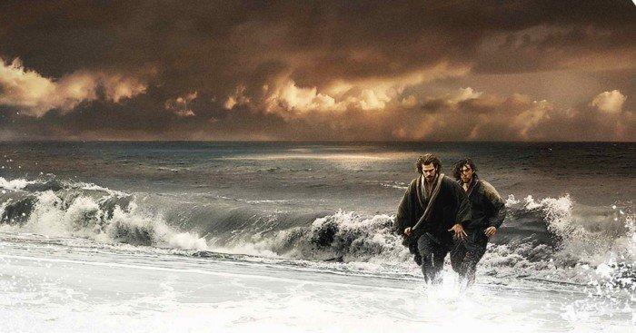 Affiche française du film Silence avec Liam Neeson