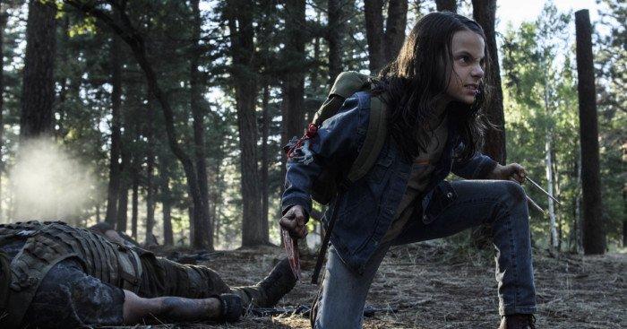 Photo du film Logan avec Dafne Keen dans le rôle de X-23