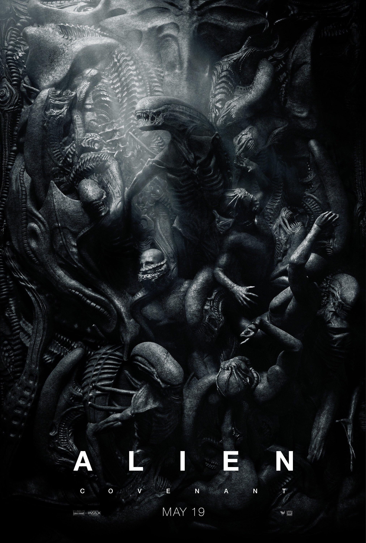 Poster du film Alien: Covenant comme une œuvre d'art