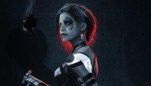Fan art pour Deadpool 2 avec Zazie Beetz dans le rôle de Domino par BossLogic