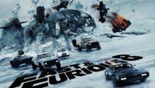 Poster IMAX du film Fast & Furious 8
