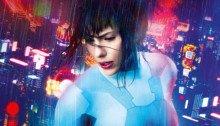 Affiche française du film Ghost in the Shell avec Scarlett Johansson