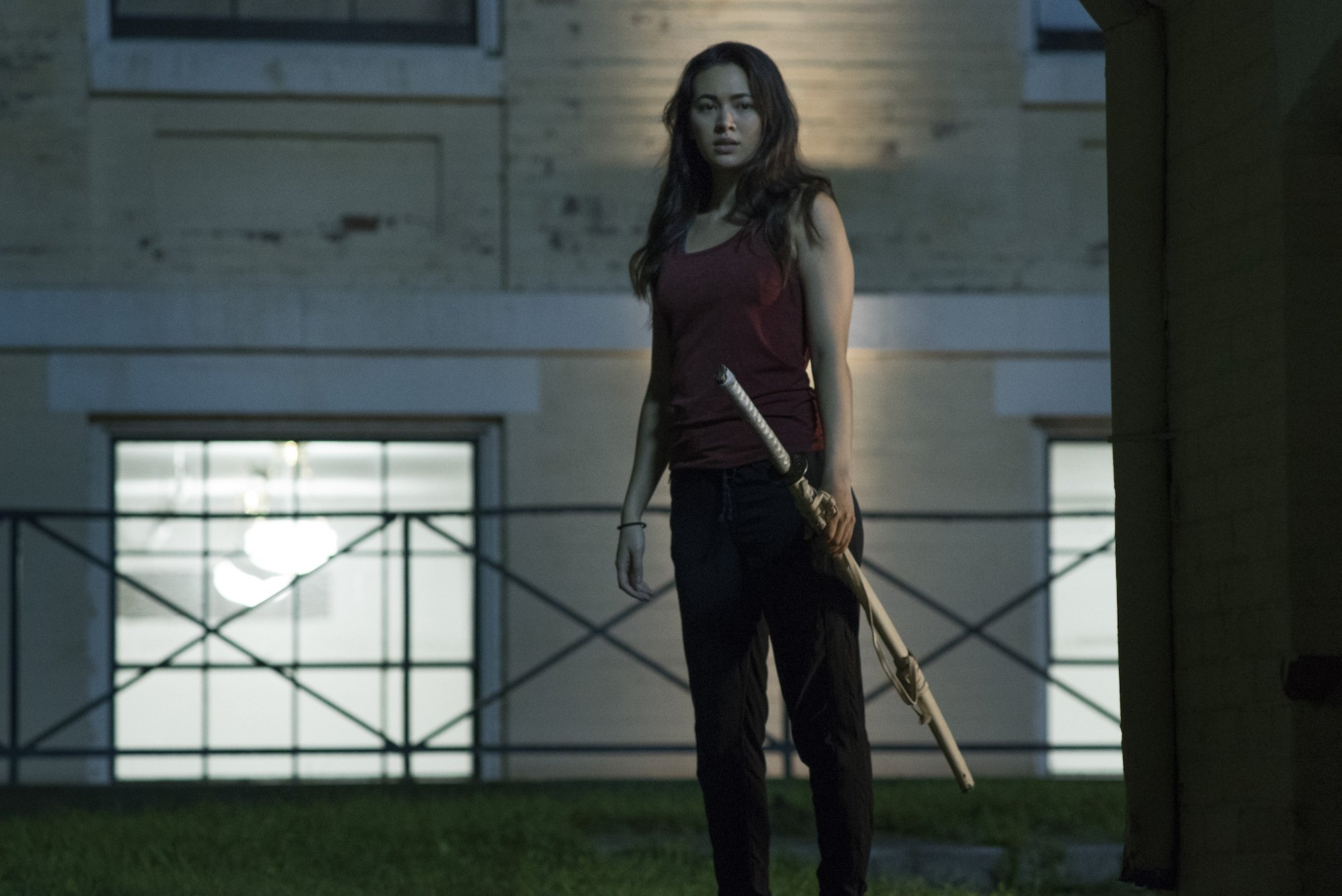 Photo de la saison d'Iron Fist avec Colleen Wing (Jessica Henwick)