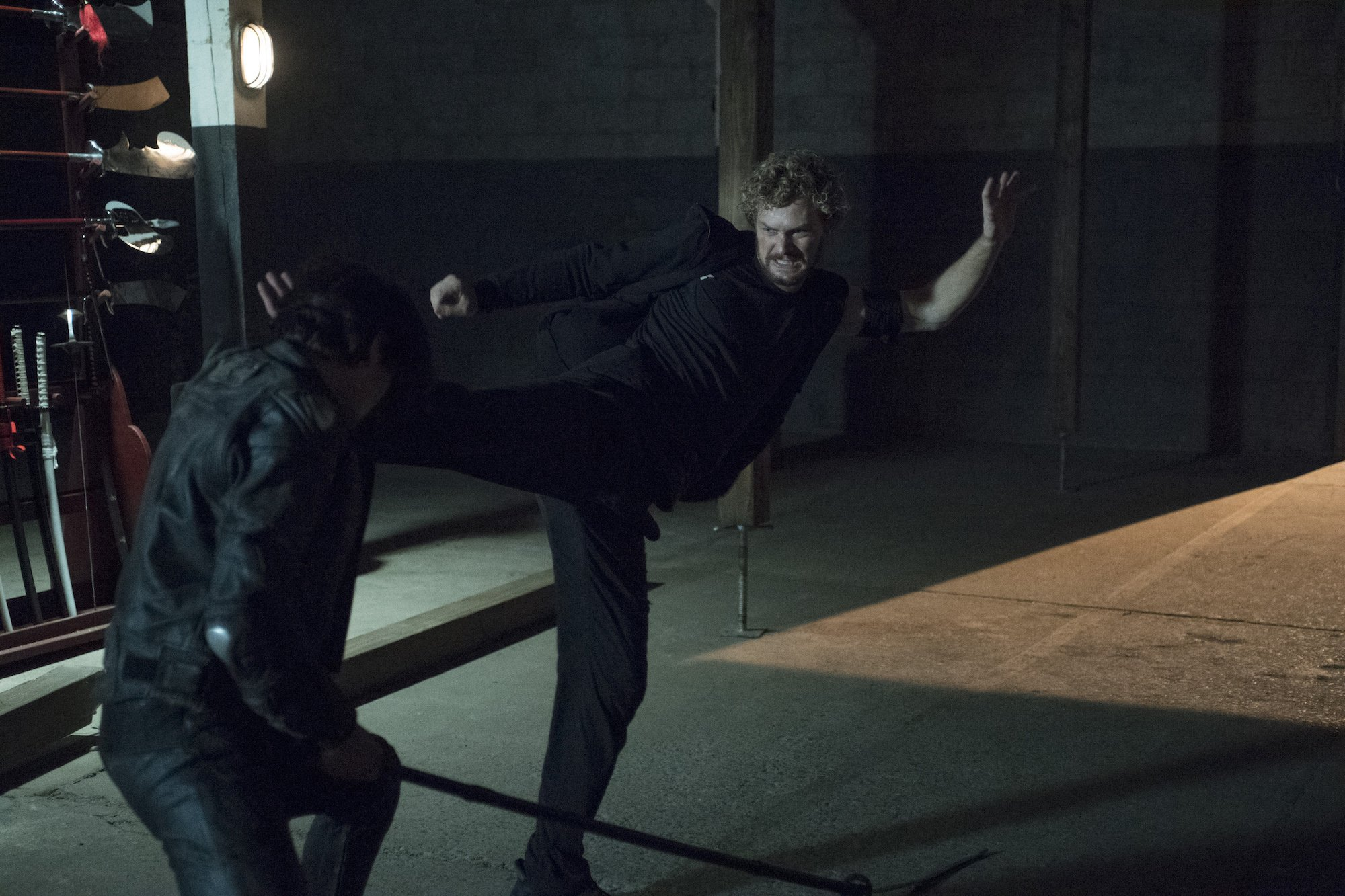 Photo de la saison 1 d'Iron Fist avec Danny Rand (Finn Jones)