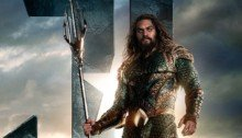 Poster d'Aquaman (Jason Momoa) pour le film Justice League
