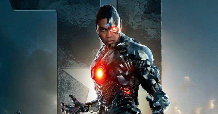Poster de Cyborg (Ray Fisher) pour le film Justice League