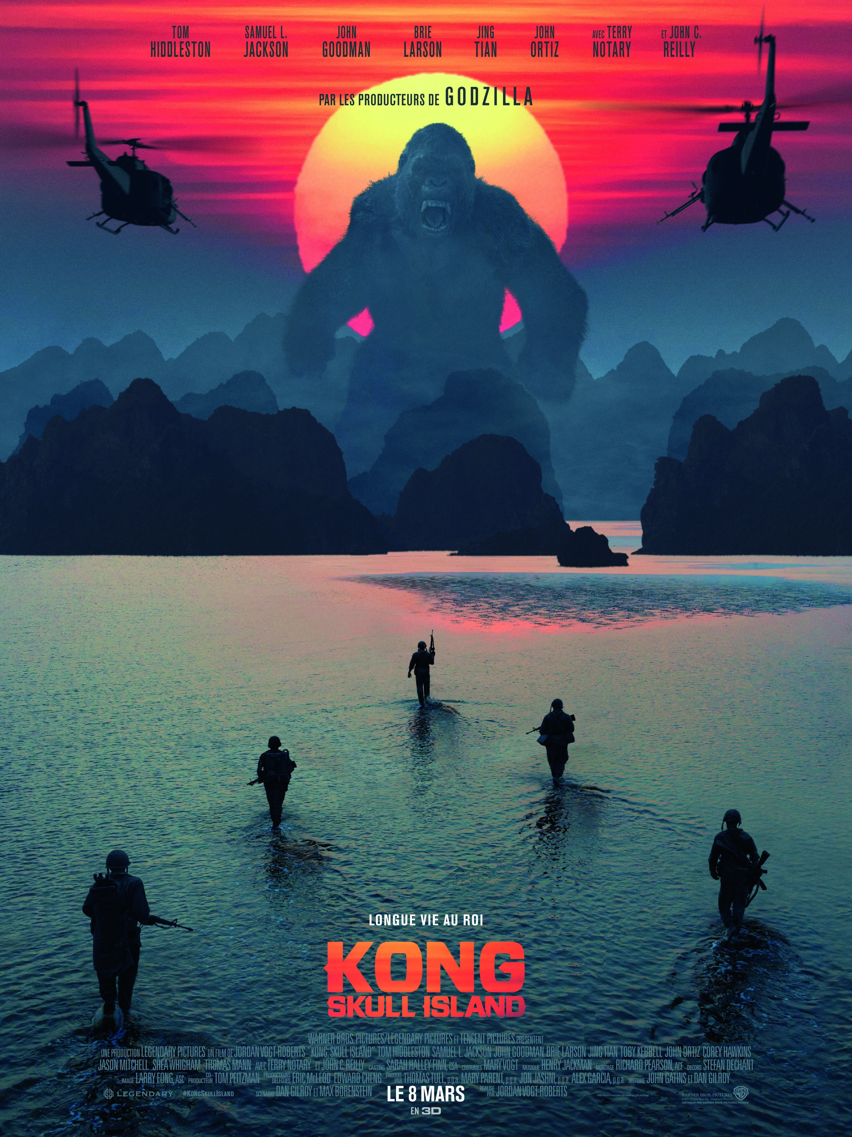 Critique Film Kong Skull Island