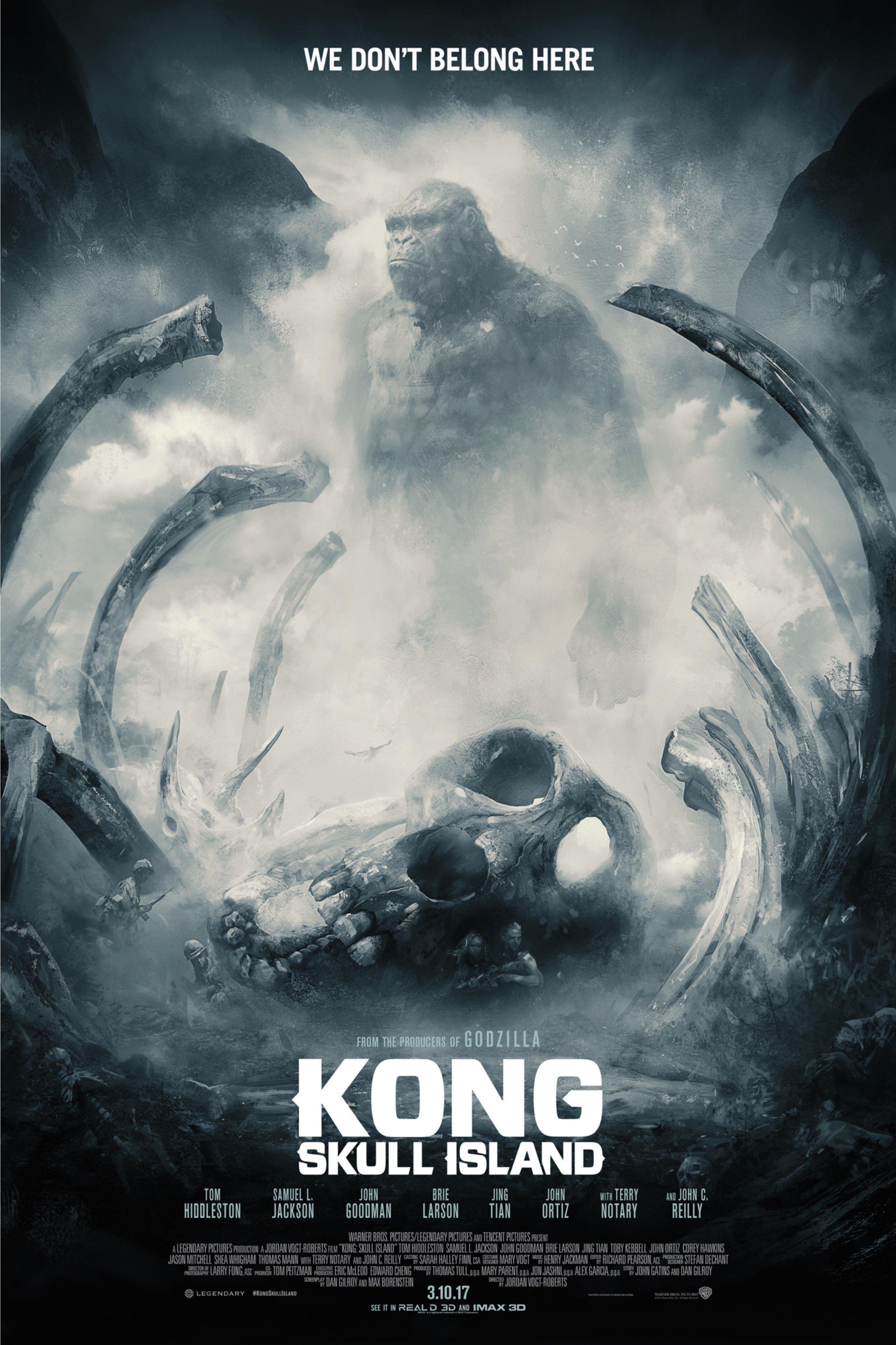 Taille De Kong Dans Skull Island