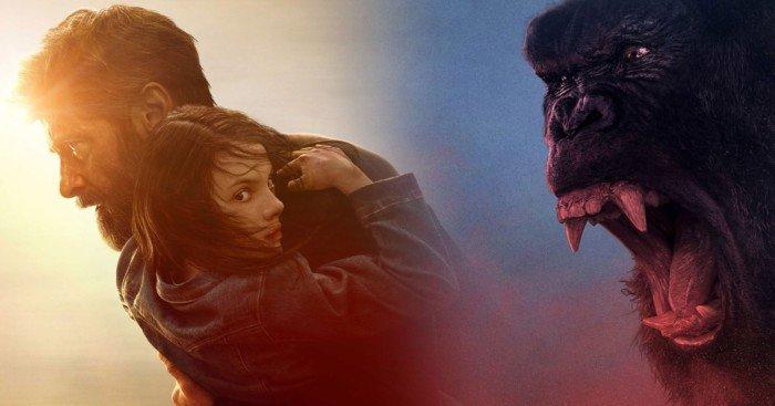 Image mash-up entre Logan et Kong: Skull Island