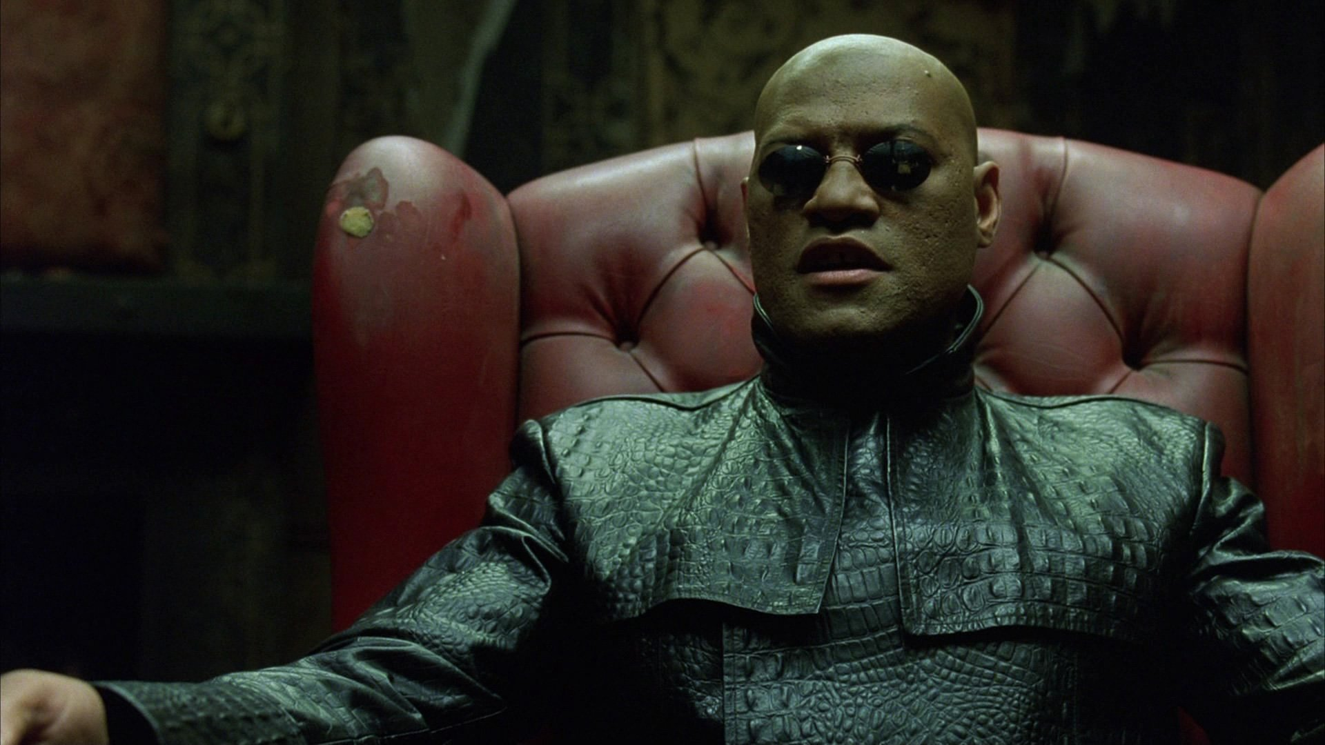 Photo du film Matrix avec Morpheus (Laurence Fishburne)