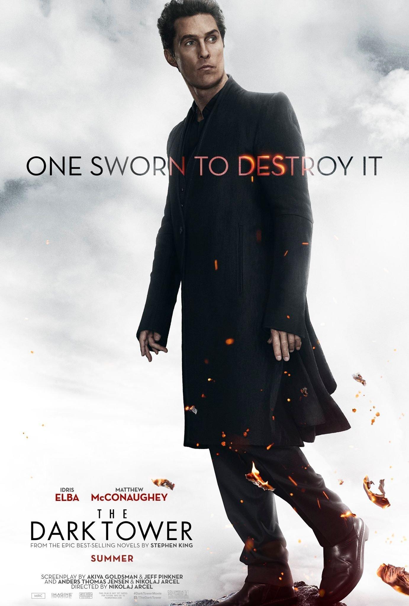 Poster du film La Tour Sombre avec Matthew McConaughey